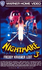 A Nightmare On Elm Street 3: Dream Warriors - German VHS movie cover (xs thumbnail)