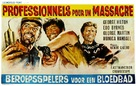 Professionisti per un massacro - Belgian Movie Poster (xs thumbnail)