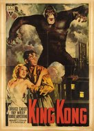 King Kong - Italian Movie Poster (xs thumbnail)