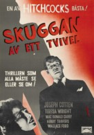 Shadow of a Doubt - Swedish Theatrical movie poster (xs thumbnail)