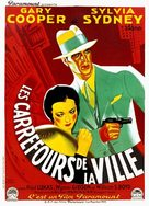 City Streets - French Movie Poster (xs thumbnail)