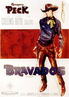 The Bravados - German Movie Poster (xs thumbnail)