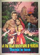 Tarzan Goes to India - Italian Movie Poster (xs thumbnail)