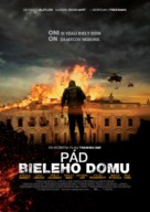 Olympus Has Fallen - Slovak Movie Poster (xs thumbnail)