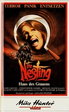 The Nesting - German VHS cover (xs thumbnail)