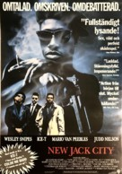 New Jack City - Swedish Movie Poster (xs thumbnail)