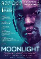 Moonlight - Dutch Movie Poster (xs thumbnail)
