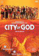 Cidade de Deus - Norwegian Movie Cover (xs thumbnail)