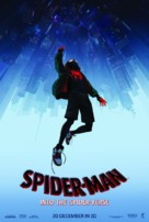Spider-Man: Into the Spider-Verse - Dutch Movie Poster (xs thumbnail)