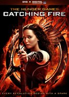The Hunger Games: Catching Fire - DVD movie cover (xs thumbnail)