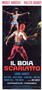 Il boia scarlatto - Italian Movie Poster (xs thumbnail)