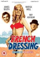 French Dressing - British DVD cover (xs thumbnail)
