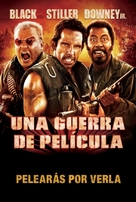 Tropic Thunder - Argentinian Movie Poster (xs thumbnail)