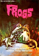 Frogs - German Movie Poster (xs thumbnail)
