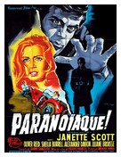 Paranoiac - French Movie Poster (xs thumbnail)