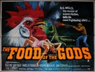 The Food of the Gods - British Movie Poster (xs thumbnail)
