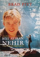 A River Runs Through It - Turkish Movie Poster (xs thumbnail)