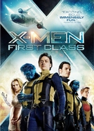 X-Men: First Class - DVD cover (xs thumbnail)