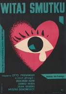 Bonjour tristesse - Polish Movie Poster (xs thumbnail)