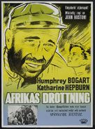The African Queen - Swedish Movie Poster (xs thumbnail)
