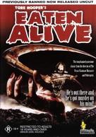 Eaten Alive - Australian DVD cover (xs thumbnail)
