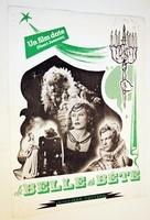 La belle et la bête - French poster (xs thumbnail)