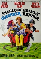 The Adventure of Sherlock Holmes' Smarter Brother - German Movie Poster (xs thumbnail)