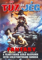 Fire and Ice - Hungarian Movie Poster (xs thumbnail)