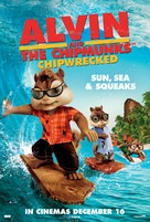 Alvin and the Chipmunks: Chipwrecked - British Theatrical movie poster (xs thumbnail)