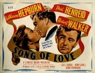 Song of Love - British Movie Poster (xs thumbnail)