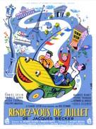 Rendez-vous de juillet - French Movie Poster (xs thumbnail)