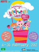 Adventures in Lalaloopsy Land: The Search for Pillow - Australian Movie Poster (xs thumbnail)