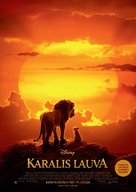 The Lion King - Latvian Movie Poster (xs thumbnail)