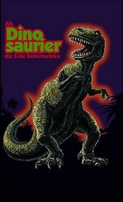 When Dinosaurs Ruled the Earth - German VHS cover (xs thumbnail)