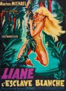 Liane, das Mädchen aus dem Urwald - French Movie Poster (xs thumbnail)