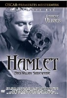 Hamlet - German DVD cover (xs thumbnail)