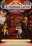 Professor Layton and the Eternal Diva - Italian DVD cover (xs thumbnail)