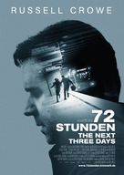 The Next Three Days - German Movie Poster (xs thumbnail)