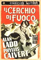 Appointment with Danger - Italian DVD movie cover (xs thumbnail)