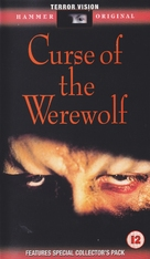 The Curse of the Werewolf - British VHS cover (xs thumbnail)