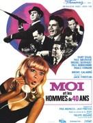 Moi et les hommes de 40 ans - French Movie Poster (xs thumbnail)