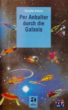 """The Hitch Hikers Guide to the Galaxy"" - German VHS movie cover (xs thumbnail)"
