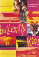 Butterfly Kiss - German poster (xs thumbnail)