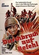 Merrill's Marauders - German Movie Poster (xs thumbnail)