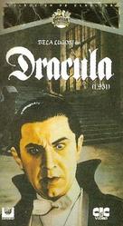 Dracula - Spanish VHS movie cover (xs thumbnail)