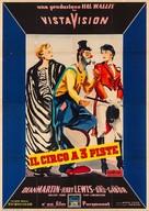 3 Ring Circus - Italian Movie Poster (xs thumbnail)