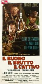 Il buono, il brutto, il cattivo - Italian Movie Poster (xs thumbnail)