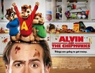 Alvin and the Chipmunks - British Movie Poster (xs thumbnail)