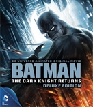 Batman: The Dark Knight Returns, Part 2 - Blu-Ray movie cover (xs thumbnail)