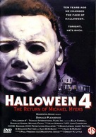 Halloween 4: The Return of Michael Myers - Dutch DVD movie cover (xs thumbnail)